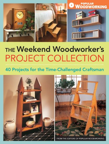 Amazon Com The Weekend Woodworker S Project Collection Ebook