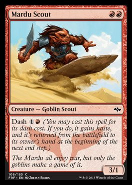 Magic: the Gathering - Mardu Scout (108/185) - Fate Reforged