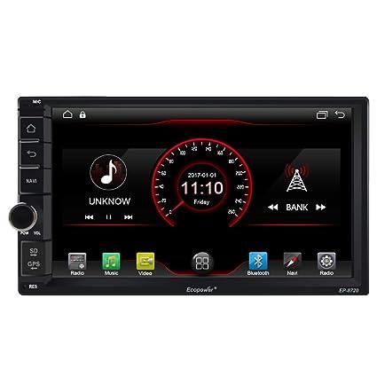 autosion Android 6.0 2 DIN en Dash Coche Reproductor de DVD Navegación GPS para Nissan X