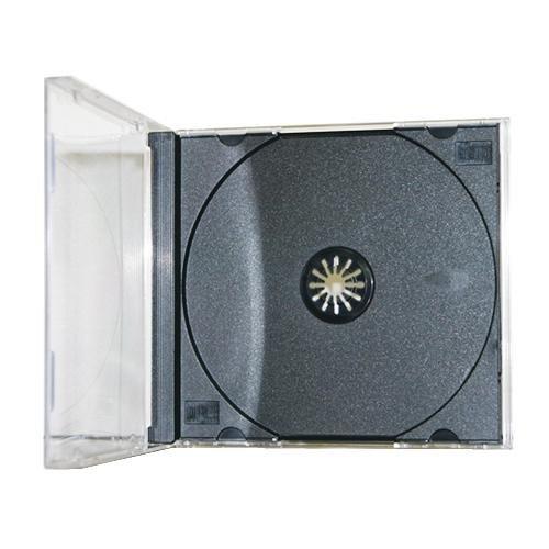 Americopy 100 Standard CD Jewel Case - Assembled - Black