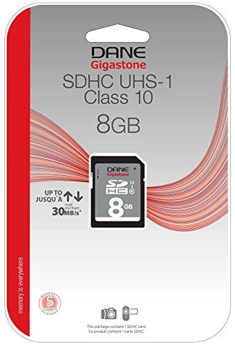 Dane Elec High Speed 8 GB  Class 10 Secure Digital Card DA-SD-1008G-C