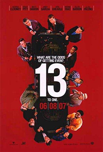 Ocean's Thirteen (2007) 27 x 40 Movie Poster - Style A