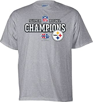 Pittsburgh Steelers Youth Super Bowl XL Champions Official Locker Room T- shirt 4adf24092