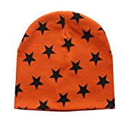 Tuscom Toddler Baby Infant Winter Warm Crochet Knit Hat Beanie Cap (Orange)
