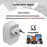 European Travel Plug Adapter, TESSAN