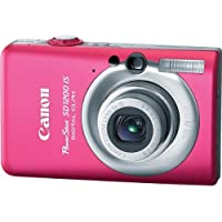 Canon PowerShot SD1200IS 10 MP Digital Camera with 3x Optical Image Stabilized Zoom and 2.5-inch LCD (Pink/Red) Explained Review Image