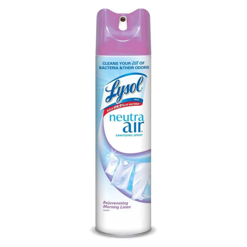 Lysol Neutra Air Sanitizing Spray, Morning Linen, 10oz, Air Freshener, Odor Neutralizer 1920088964