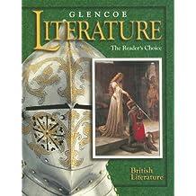 Amazon mcgraw hill literature fiction books glencoe literature the readers choice grade 12 british literature glencoe literature grade fandeluxe Gallery