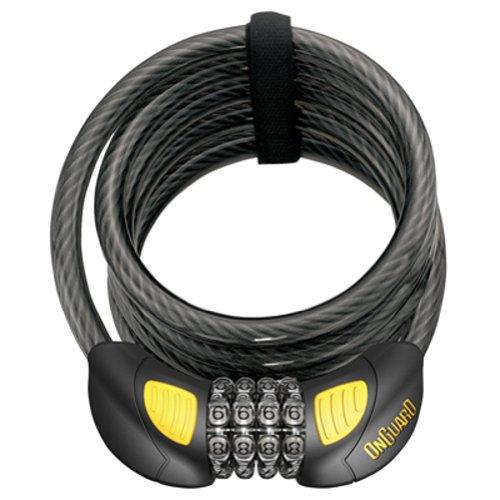 OnGuard Doberman Glo Coil Cable Locks 6&Prime, x .47&Prime, 8031GLO ()
