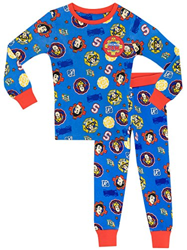 Fireman Sam Boys Pajamas 7 ()