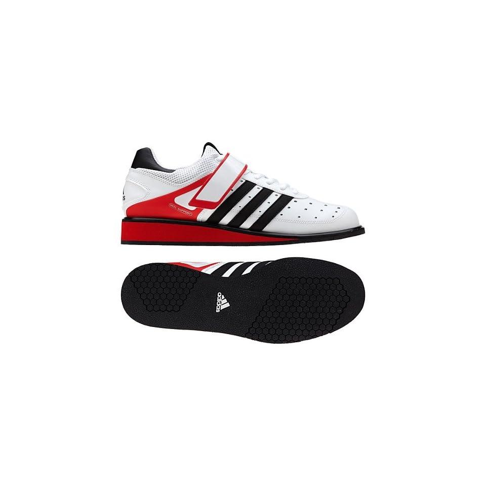 New Adidas Power Perfect 2.0 White/Black Mens 12
