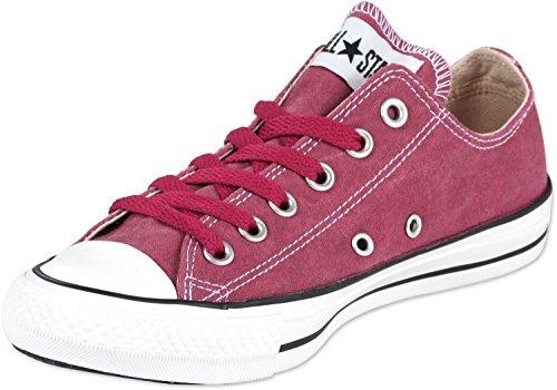 Converse Ct Bas Wash Ox 287140-55-63 - Zapatillas de tela unisex Rojo