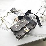 POLPEP Handbag Chain Bag 2018 Wave Women Girls Harbor Unique Style Letter Necklace Pendant Messenger (Silver