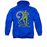 Dc The Riddler Men's Pull-Over Hoodie XXX-Large Royal Blue