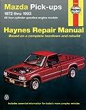 Mazda B1600 Pickups, 1972-1993, Mike Stubblefield and John Haynes, 1563920840