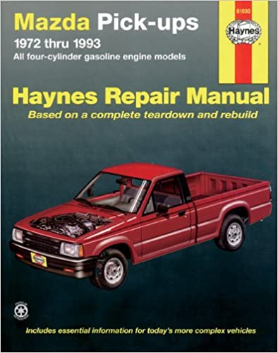 Mazda pickups 1972 1993 all gasoline engine models haynes mazda pickups 1972 1993 all gasoline engine models haynes repair manuals 1st edition fandeluxe Choice Image