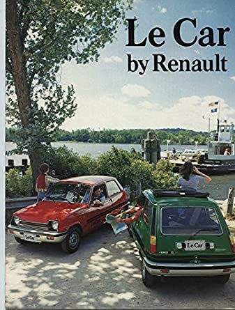1977 Renault 5 Le Car Brochure
