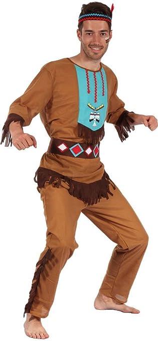 Disfraz indio hombre - M: Amazon.es: Juguetes y juegos