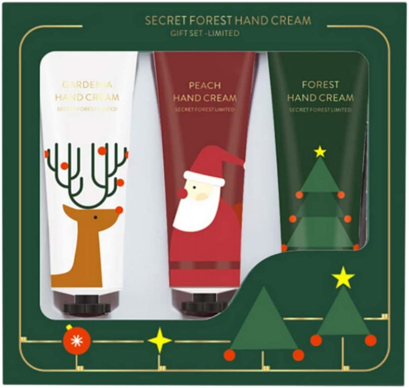 Hand Cream Gift Set, 3PCS Christmas Moisturizing Hand Cream