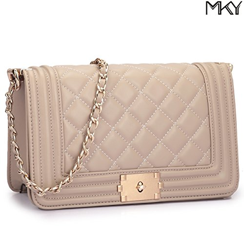 Quilted Leather Clutch Bag - 3