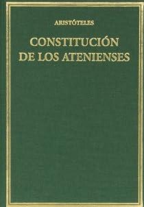 Constitución de los atenienses par Aristoteles