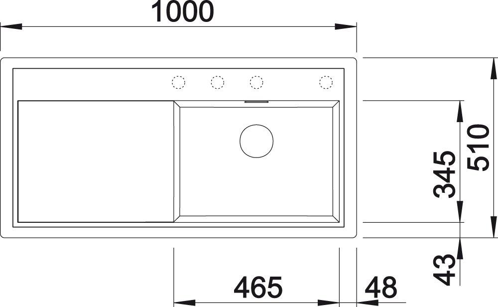 BiBa-Schrauben Gewindemuffen M6 x 30 sechskant SW10 10 St/ück Edelstahl A2 V2A VA Distanzmuttern Verbindungsmuttern Langmuttern