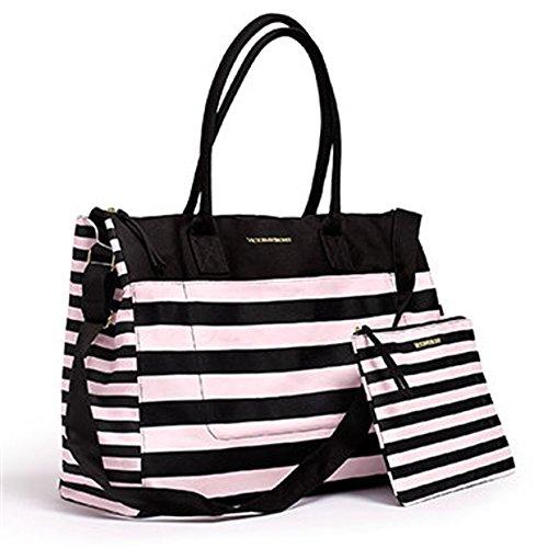 Amazon.com: Victoria s Secret Bolsa de fin de semana Viaje ...