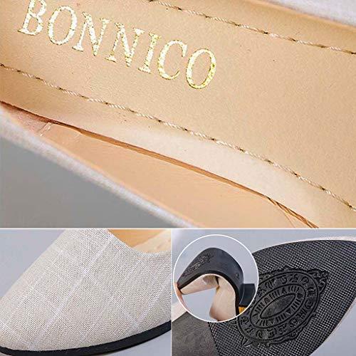 Adecuado Zapatos Náuticos White Mocasines Zapatillas Planos Cuña Para Tartán Plataforma Comodos Diario Oficina Mujer Y Uso xI1vdzdqwZ