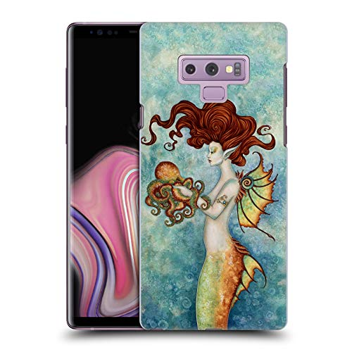 Official Amy Brown Mermaid and Octopus Sea Hard Back Case Compatible for Samsung Galaxy Note9 / Note 9