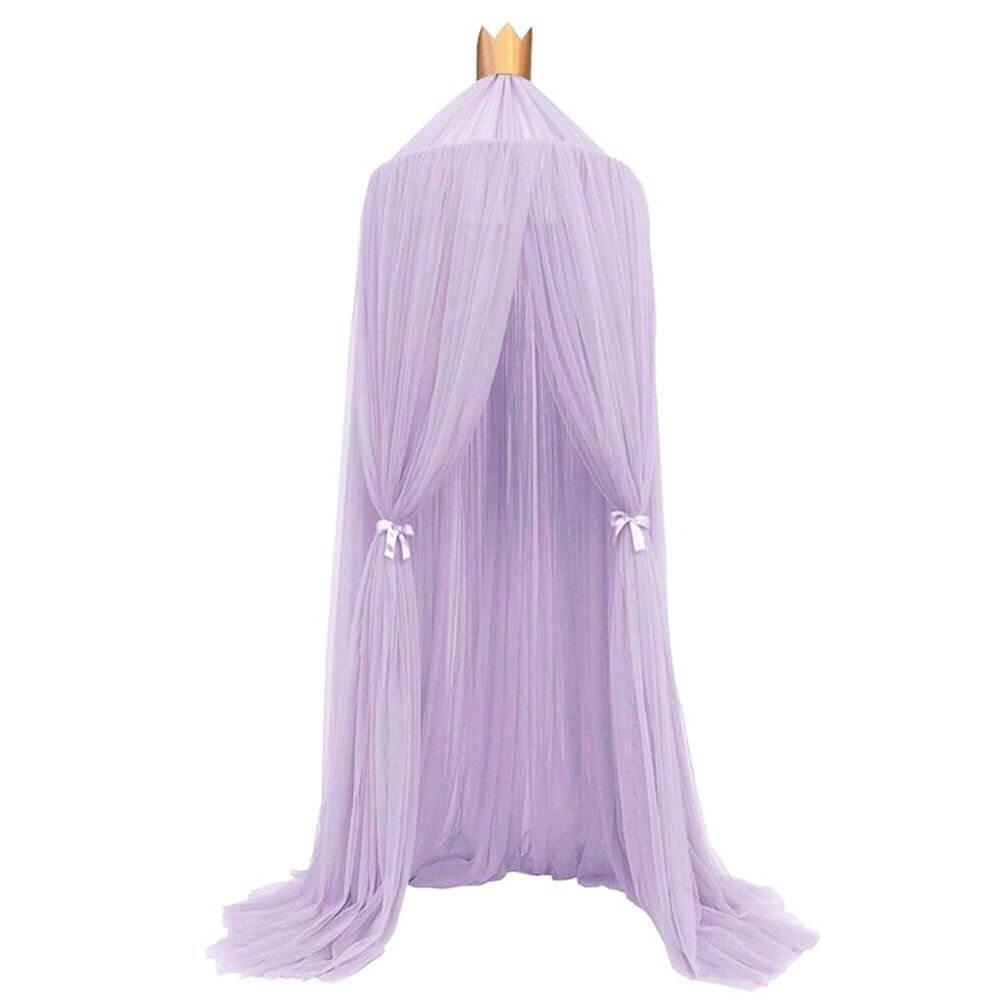 Kids Baby Princess Mosquito Net Bed Canopy with Round Lace Dome Children Playing Reading canopy Tent Netting Curtains