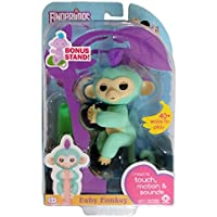 Fingerlings Baby Monkey - Zoe - Turquoise (Includes Bonus...