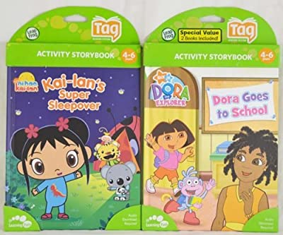 Leapfrog Bundle Tag Book 2-pack - Ni Hao And Dora by LeapFrog