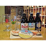 ベルギービールと専用グラス・コースター付きセット(初級編)