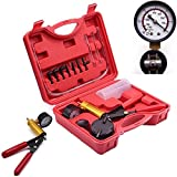 TBvechi Brake Bleeder Kit,Car Auto Hand held Manual Vacuum Pump Test Set,Tuner Tool Set,Brake System Bleeding Tools for Automotive