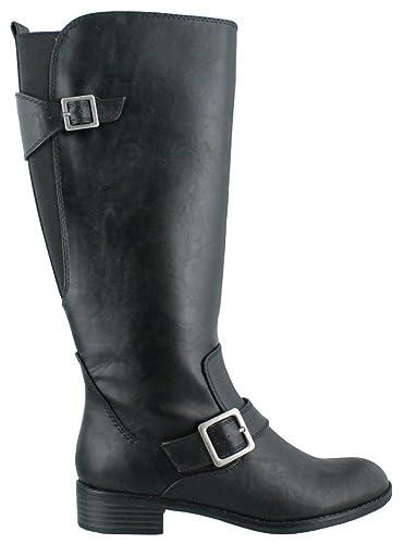 LifeStride Women's Spell (3) Black Kraft Boot 6 M ...