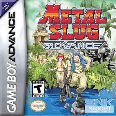 Amazon com: Metal Slug Advance: Unknown: Video Games