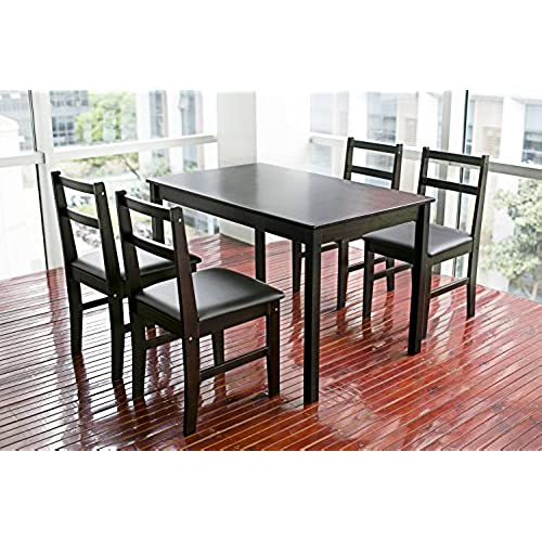 Espresso Dining Room Sets: Amazon.com