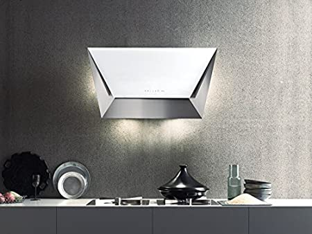 Falmec Design Campana extractora Mural Prisma-Blanco-Mural 115cm: Amazon.es: Hogar