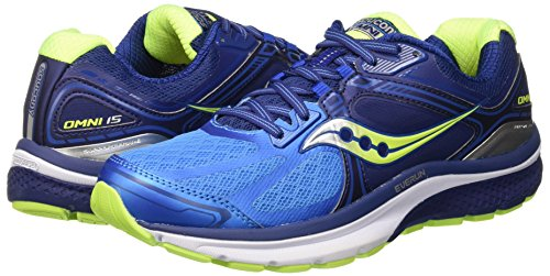 Saucony Chaussures de Course Omni 15Men Chaussures de Course pour (s203152), Taille: US 12.5–Euro 47–cm 30,5–UK 11,5