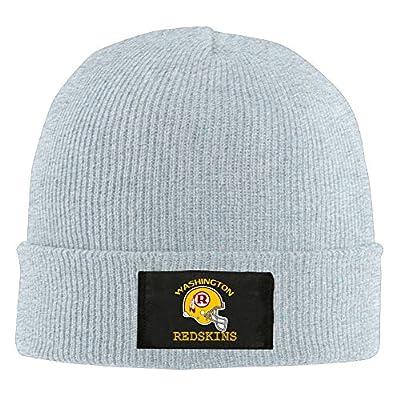 Amone Washington Redskin Winter Knitting Wool Warm Hat Ash