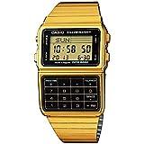 Casio #DBC611G-1D Men's Gold Tone 25 Memory Calculator Databank Watch Casio
