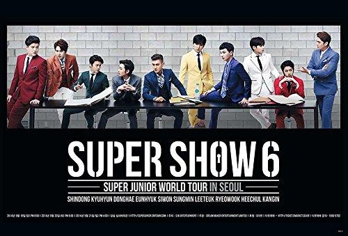 Super Junior SuJu Boy Band Kpop Wall Decoration Poster (#073)