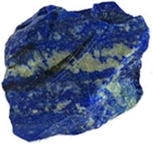 Decdeal 100g Natural áspero Lapislázuli Cristal Crudo Piedra Mineral Piedra Mineral Tanque de Peces Decoración Joyería DIY