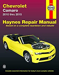 Image of the product Chevrolet Camaro 10 15 that is listed on the catalogue brand of Haynes Manuals N. America.