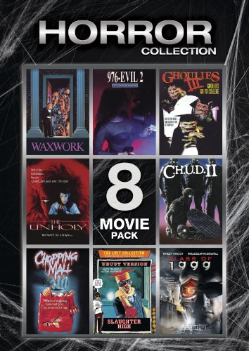 Horror Collection (Waxwork / 976-EVIL II / Ghoulies III / The Unholy / C.H.U.D. II / Chopping Mall / Slaughter High / Class of 1999) by Lions Gate