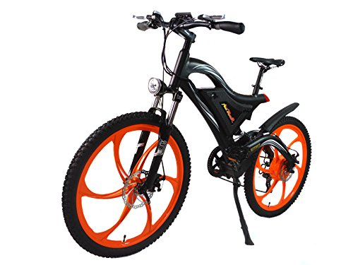 Addmotor HITHOT Power Mountain Electric Bike 500W 48V 26 inch Wheel Power Alloy Frame E-Bike 2017 H2 Electric Bicycel With Lithium-Ion Battery