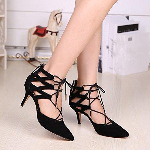 Ma52519 Bootie Party nbsp;trendy In Minitoo Donna Pompe T Caviglia Vestito strap Black Scarpe Cerniera Bpxqd