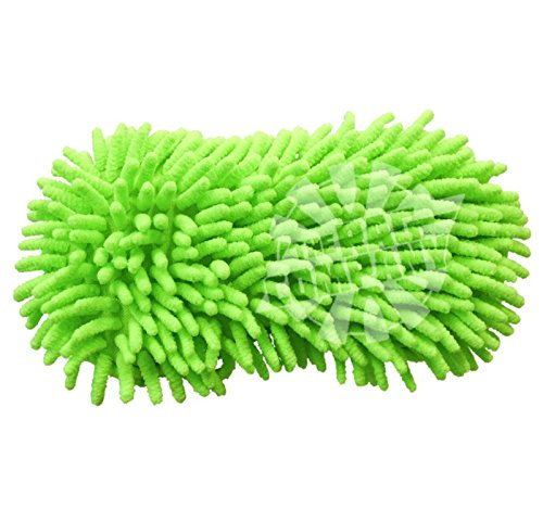 Price comparison product image (2-Pack) THE RAG COMPANY Premium Soft Microfiber Chenille Knobby Dog Bone Sponge
