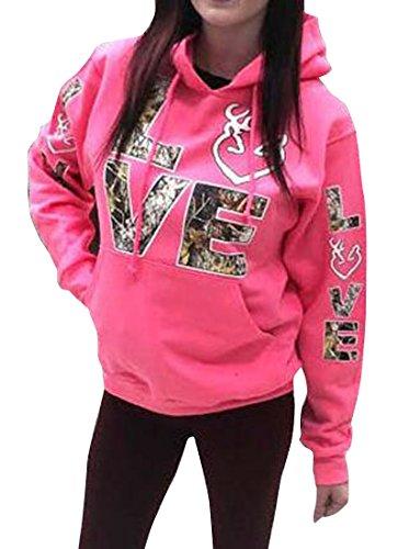 Pink Camo Sweatshirt - 2