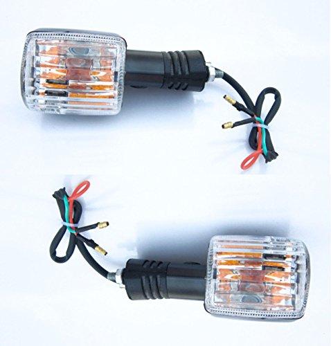 (Turn Signal Indicator Blinker Trafficator Flasher Light Lamp for Hero Splendor Pro Motorbike 12V -11010001)